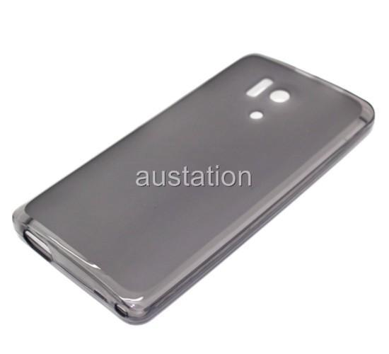 Soft Silicon TPU Clear Cover Case Back Skin for Huawei Honor 3 outdoor HN3-U01