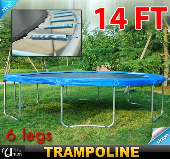 Trampoline Safety Pad Heavy Duty Waterproof 10ft 12ft 14ft: New 13FT Round Trampoline Safety Frame Pad Pink Trampoline
