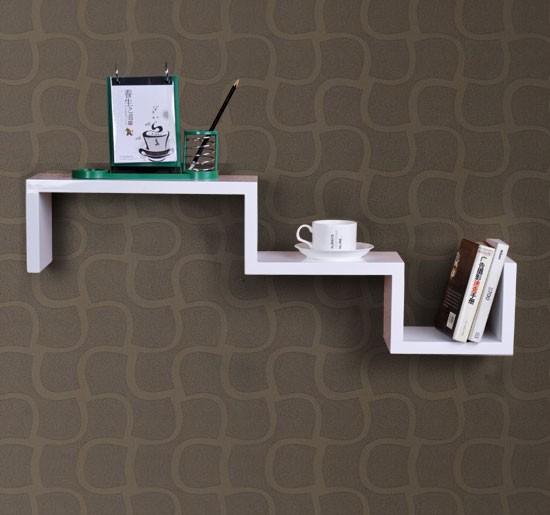 new wood wall display mount book shelf floating cd. Black Bedroom Furniture Sets. Home Design Ideas