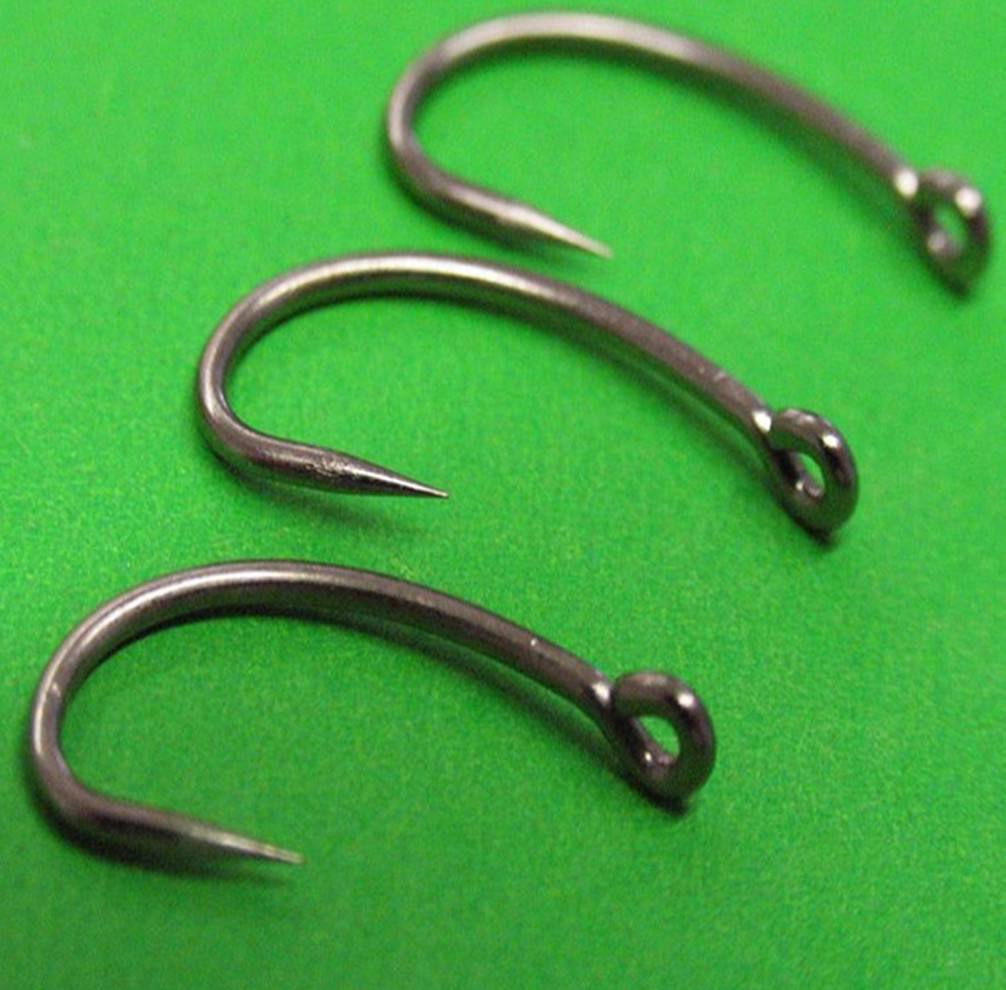 Carp-Force-kurve-shank-carp-hooks-barbless-curve-shanx-carp-fishing-hooks-15pk