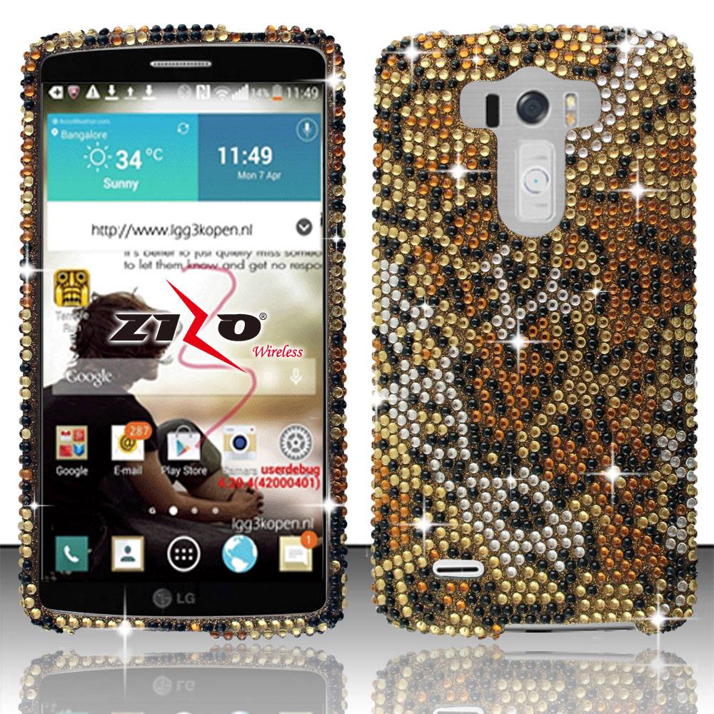 ... -Crystal-Diamond-BLING-Hard-Case-Snap-On-Phone-Cover-Screen-Protector