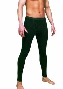 Fleece Lined Thermal Footless Tights Mantyhouse Long Johns underwear