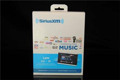 SiriusXM Lynx Portable Satellite Radio with Vehicle Kit SXI1TK1C