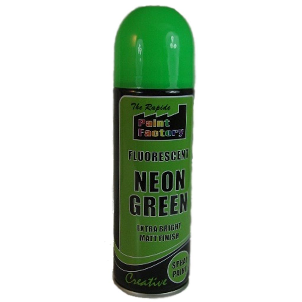 U 4 X Green Fluorescent Neon Spray Matt Paint Graffiti Banksey Ebay