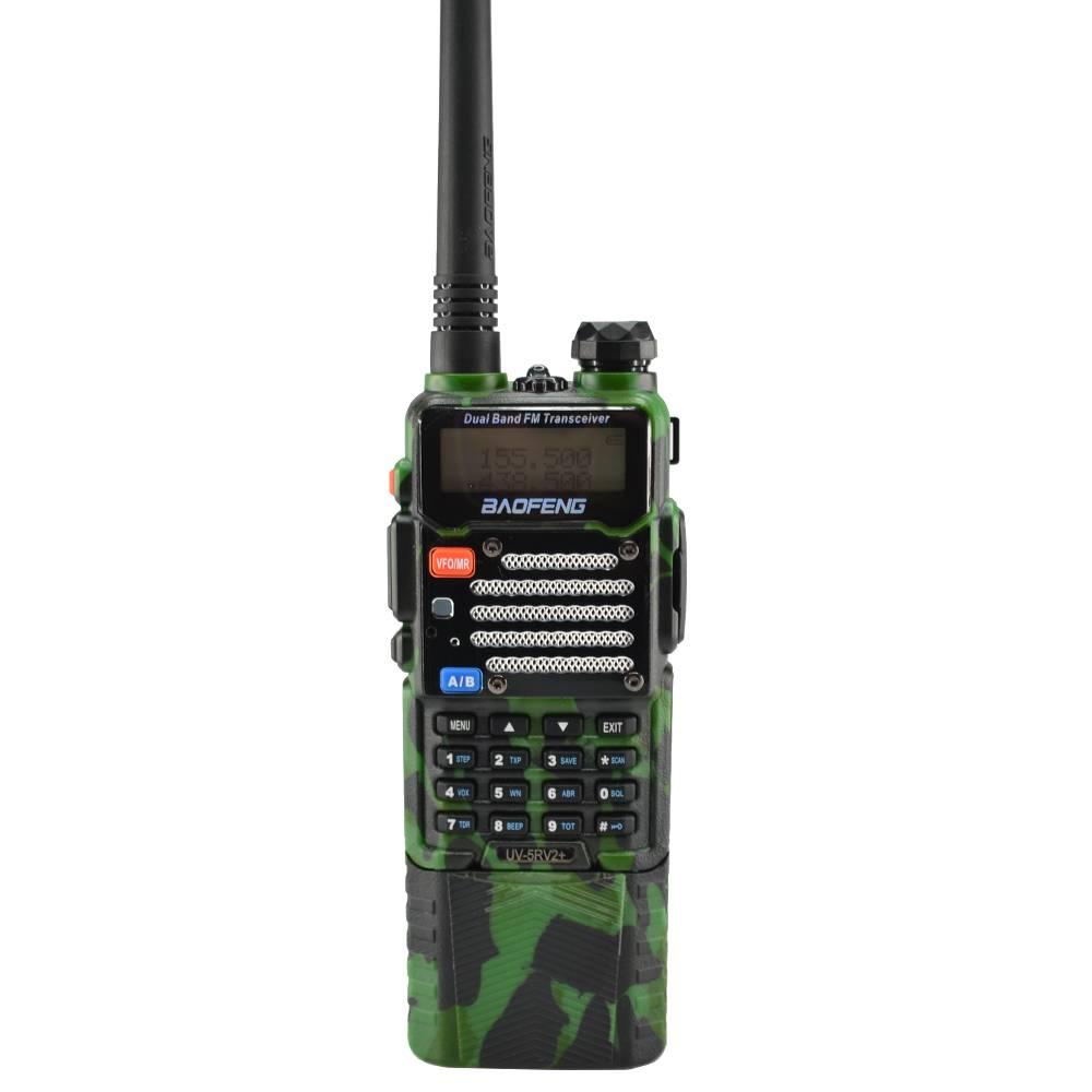 Baofeng Green UV-5R V2+ Dual-Band Ham Two-way Radio w ...