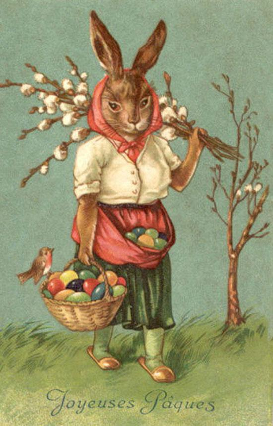 vintage easter bunny - photo #40