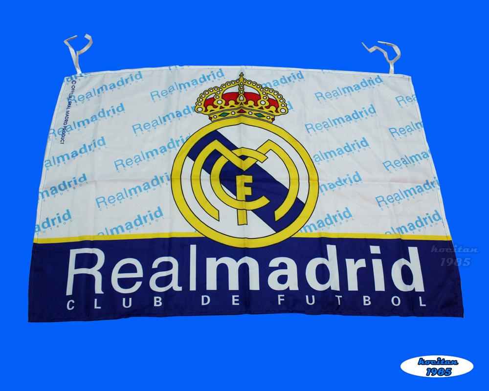 Details about Soccer Real Madrid Football Club Logo 65x95cm Flag