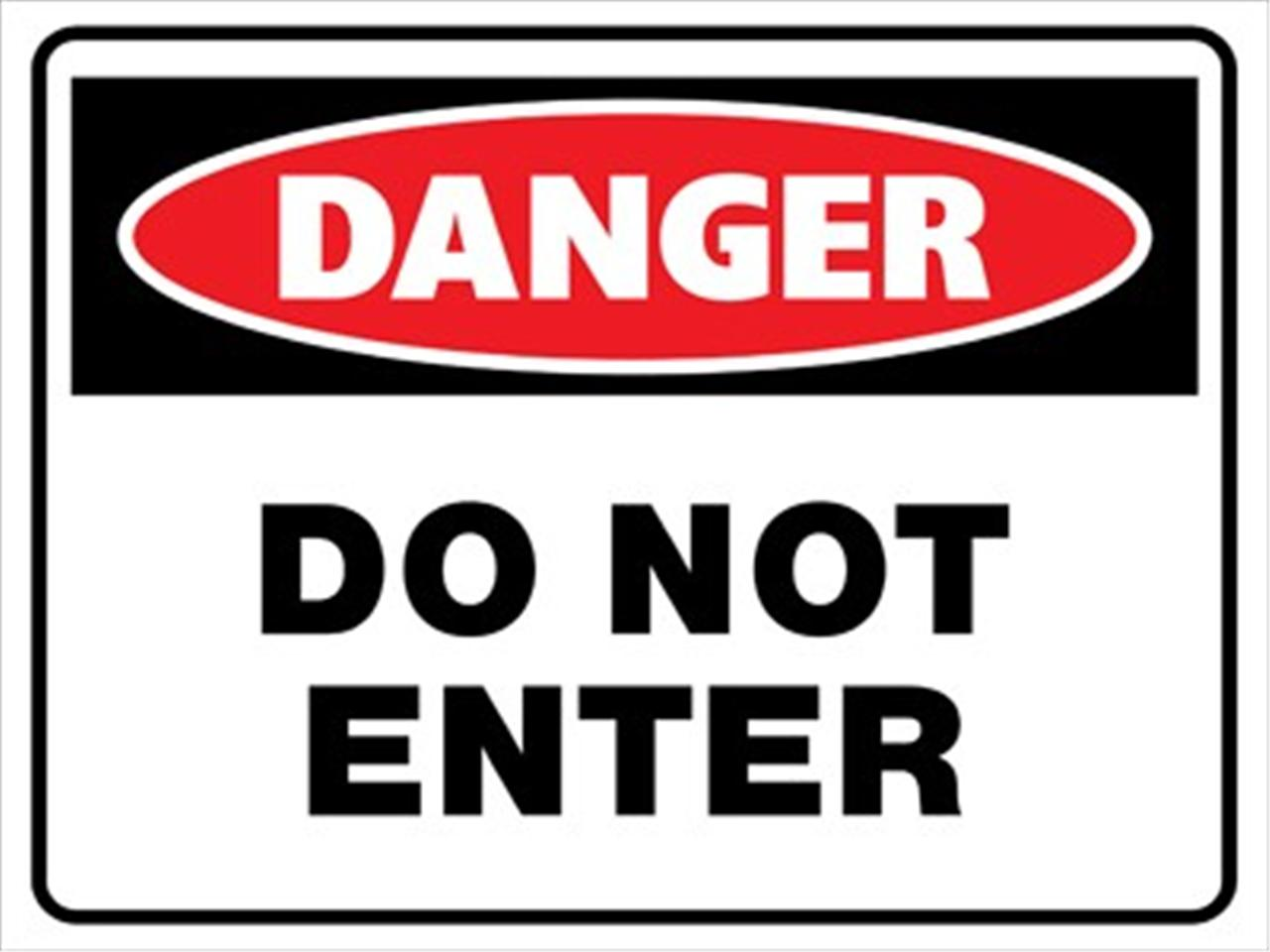 danger signs:
