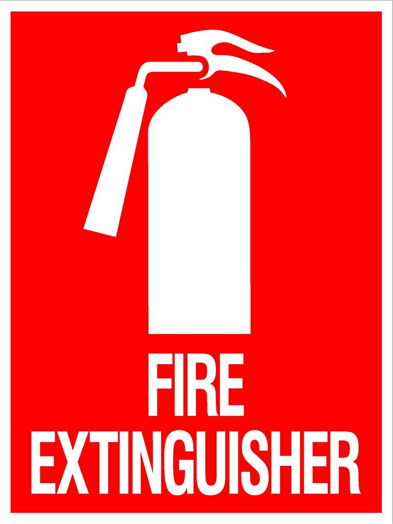 fire extinguisher sign 300 x 225mm metal sign emergency fire rh ebay com au fire extinguisher log sheet texas fire extinguisher log template printable