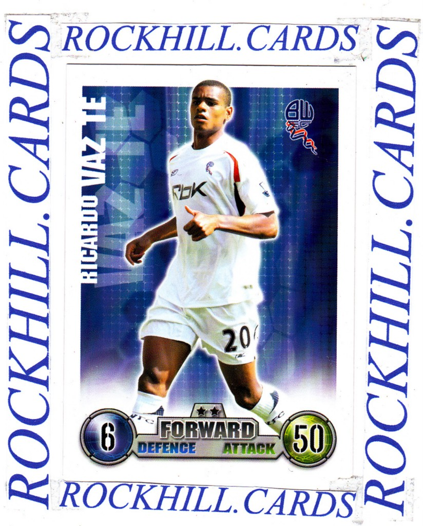 MATCH-ATTAX-07-08-PICK-YOUR-OWN-BOLTON-WANDERERS-BASE-CARD-2007-2008