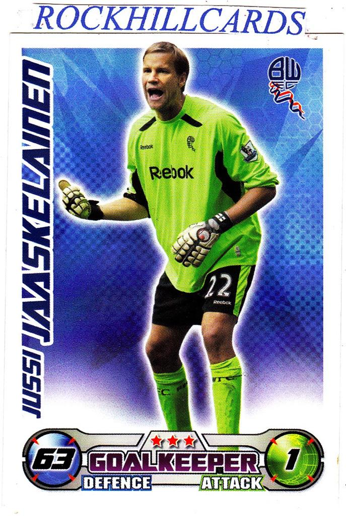 MATCH-ATTAX-08-09-PICK-YOUR-OWN-BOLTON-WANDERERS-BASE-CARD-STAR-PLAYER-2008-2009