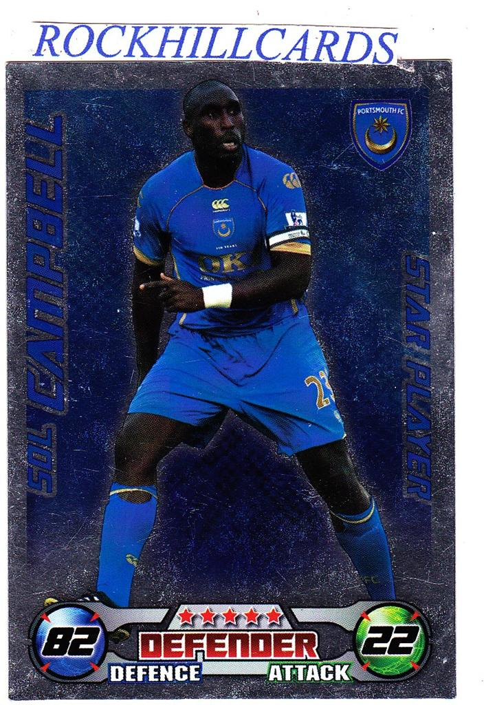 MATCH-ATTAX-08-09-PICK-YOUR-OWN-PORTSMOUTH-BASE-CARD-STAR-PLAYER-2008-2009