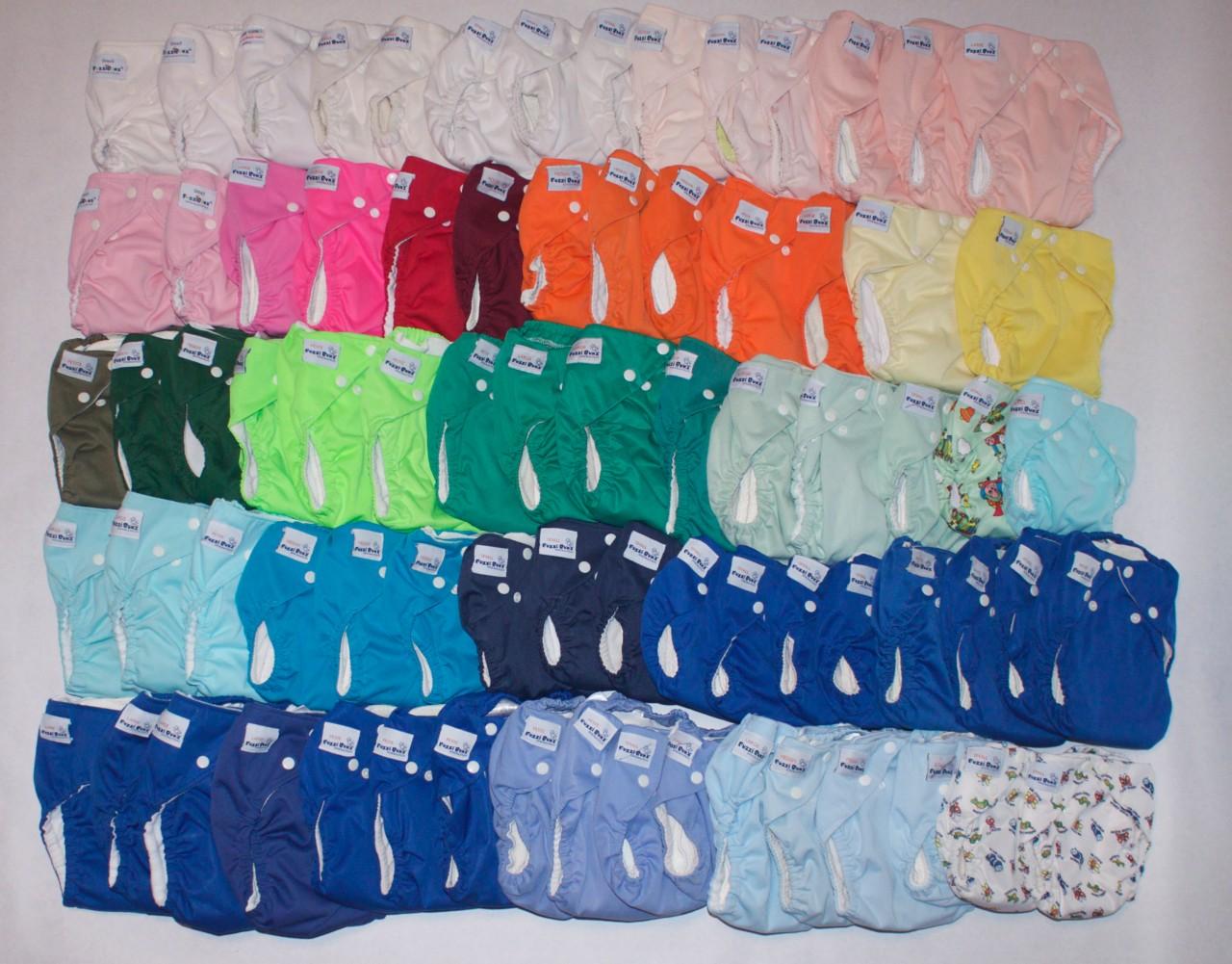 Fuzzi Bunz Cloth Diapers Small Medium Large Petite