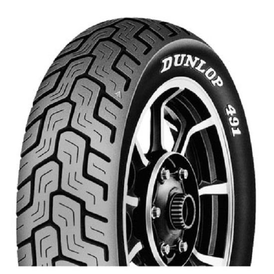 Dunlop 491 elite ii rear motorcycle tire size 140 90b 16 for Dunlop white letter motorcycle tires