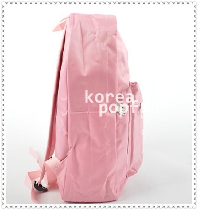SNSD girls Generation KPOP PINK SCHOOLBAG BACKPACK BAG NEW