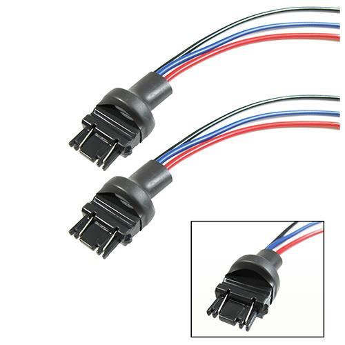3156 3157 adapter wiring harness headlight l signal retrofit ebay