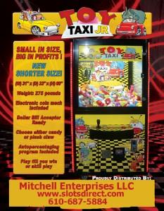 taxi claw machine