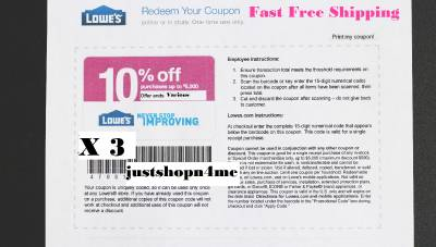 How to Use Lowe's Coupons