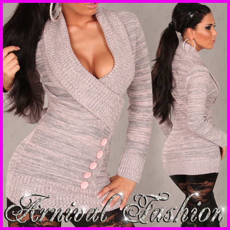 NEW SEXY LADIES JUMPER DRESS 6 8 10 12 14 HOT WOMEN'S CASUAL ...