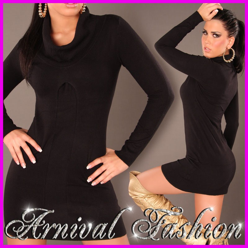 NEW-WOMENS-KNITWEAR-ROLL-NECK-JUMPER-6-8-10-12-14-LADIES-CASUAL-SWEATER-PULLOVER
