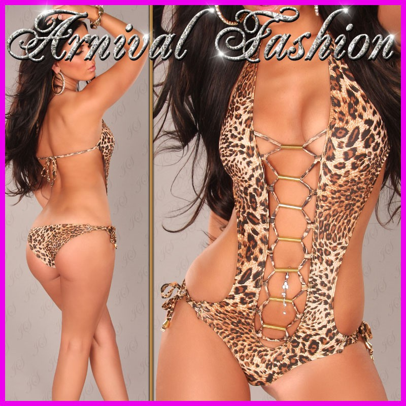 WOMEN DESIGNER v MONOKINI HOT SWIMWEAR brazilian SWIMSUIT ...