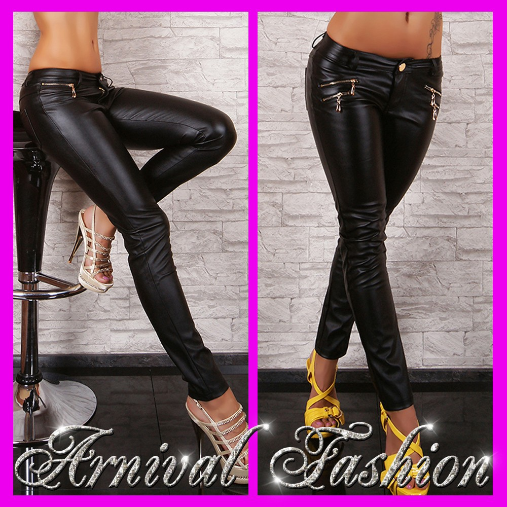 NEW SEXY FAUX LEATHER HOT PANTS FOR LADIES CLUBBING WEAR ...