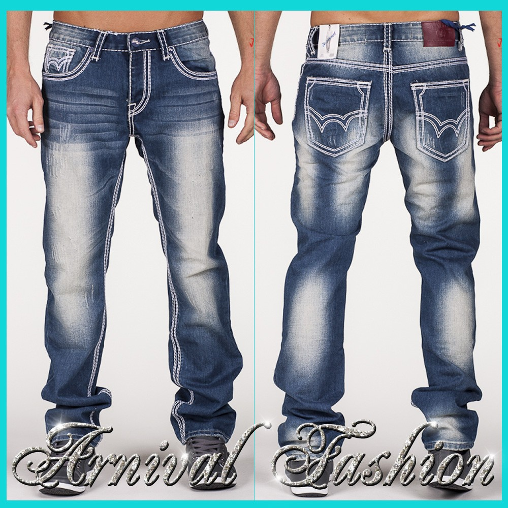 New stitched jeans for men men 39 s denim pants mens clothing Designer clothing for men online sales