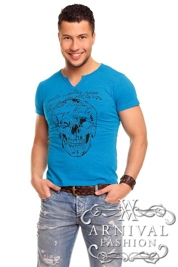 New men 39 s v neck t shirts for men casual fashion clothing for Best v neck shirts