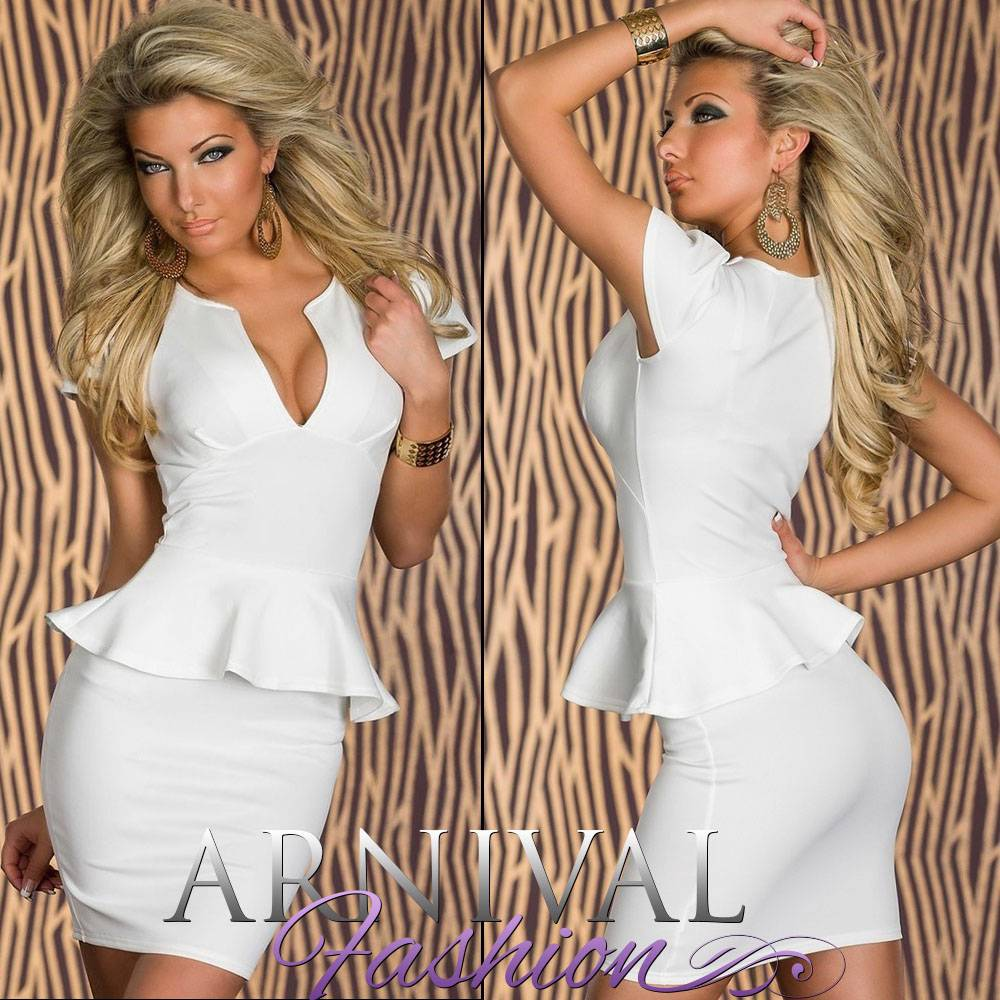 NEW sexy european fashion PEPLUM DRESS 6 8 10 shop online PARTY ...