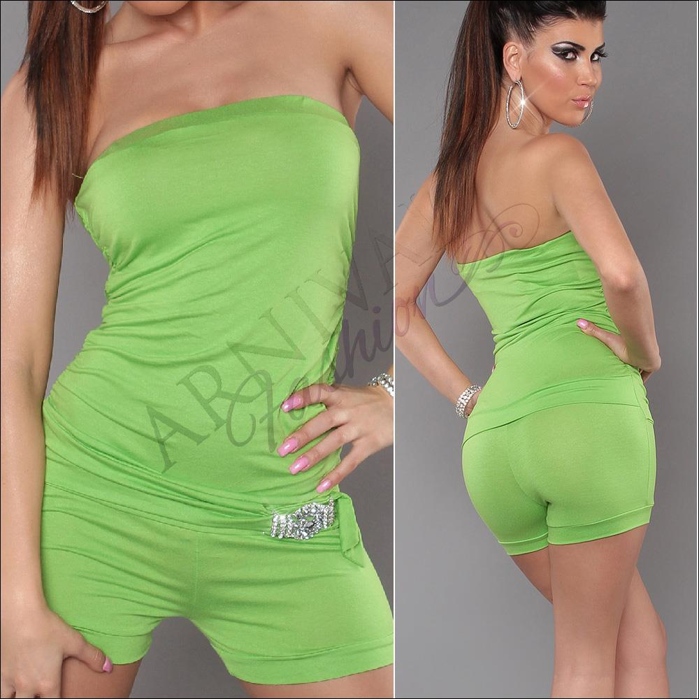 NEW women's fashion clothing BOOB TUBE OVERALL 6 8 10 ...