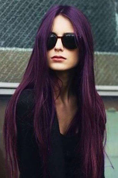Berina Permanent Color Hair Dye Cream Violet A6 Free Shipping