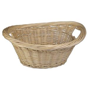 quality natural willow wicker laundry basket linen. Black Bedroom Furniture Sets. Home Design Ideas