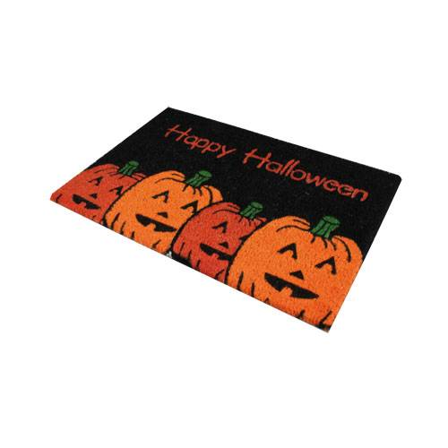 Novelty halloween party pumpkin witch ghosts door mat in outdoor doormat coir ebay - Novelty welcome mats ...