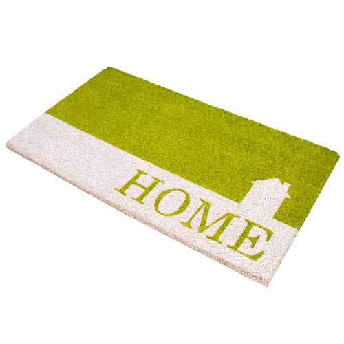 HOME WELCOME DOOR MAT 40 x 70 CM OUTDOOR INDOOR ENTRANCE DOORMAT NATURAL COIR