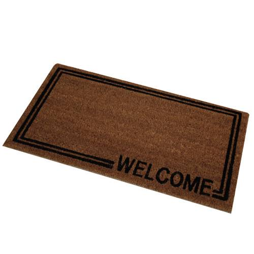 Novelty welcome door mat indoor outdoor entrance doormat for Indoor front door mats