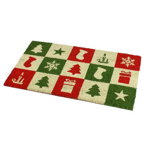 Christmas Novelty Designs 100 Coir Door Mat Floor