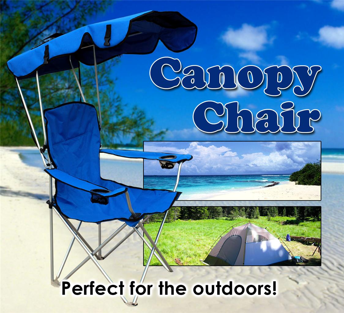 Backpack Outdoor Kids Chair w/ Canopy - Sam's Club