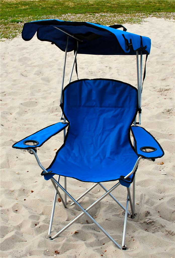 Outdoor Folding Chair With Canopy Folding Canopy Chair Cing Chair Xl Outdoor Chairs Blue Ebay & outdoor folding chair with canopy - 28 images - new canopy chair ...