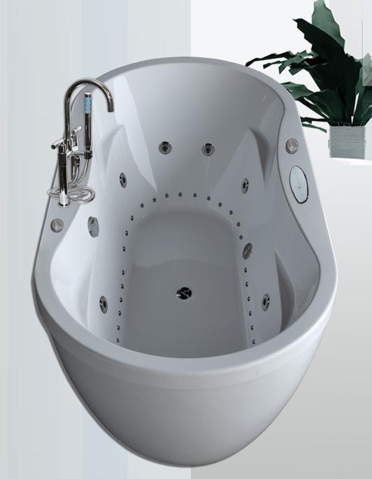 36x71 dual whirlpool air system bathtub 8 water 26