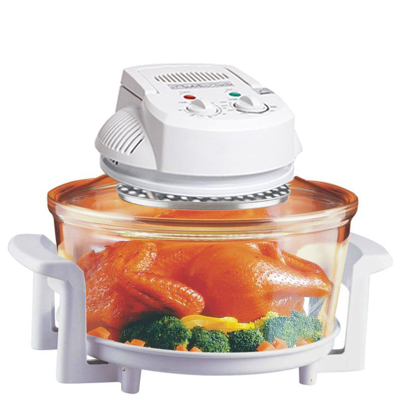 HALOGEN INFRARED TURBO CONVECTION COUNTERTOP OVEN W/ EXTENSION RING ...