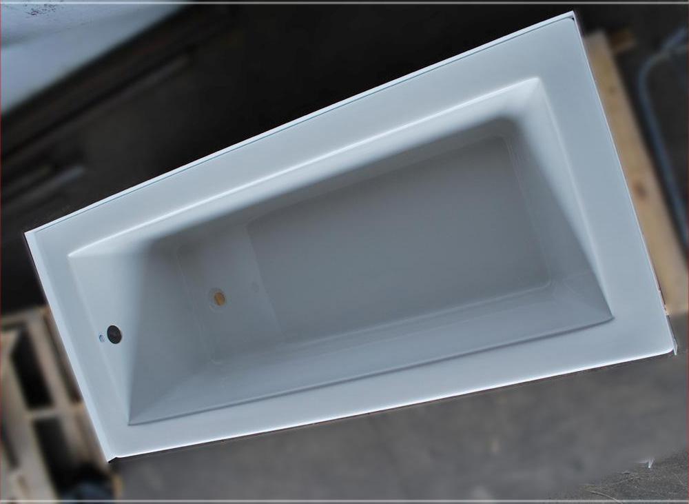 32 x 72 drop in soaker bathtub white bath tub ebay for Drop in tub dimensions