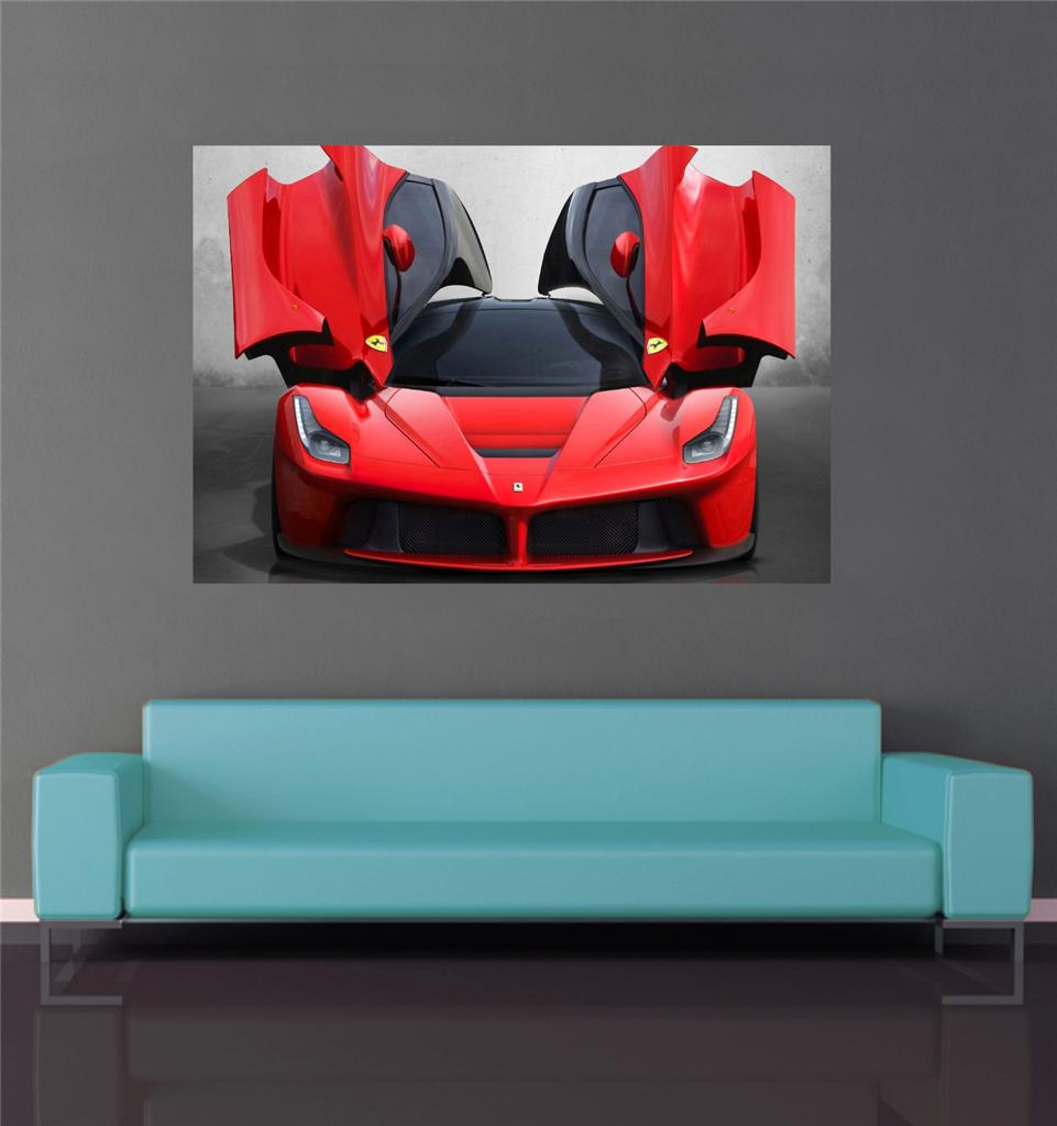 FERRARI-SPORTS-CAR-POSTER-A1-A2-WALL-ART-PRINTED-GI-766