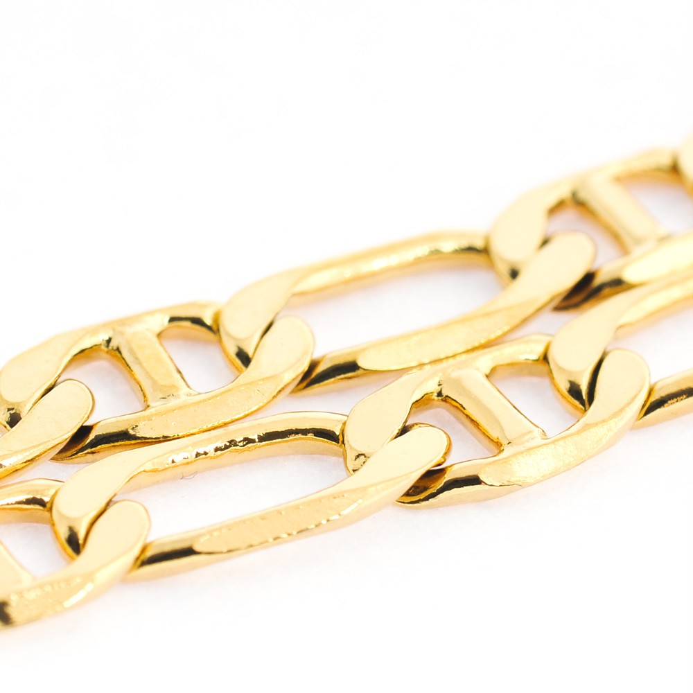 24inches 18g 18k solid yellow gold gf necklace chain cc016 ebay