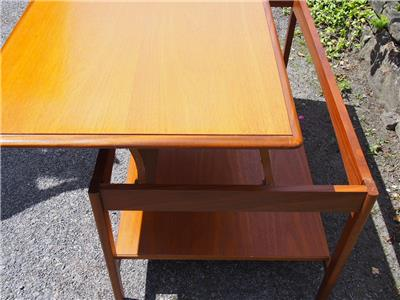 Rare Vintage Retro Mid Century Stag Rising Top Metamorphic Coffee Dining Table Ebay