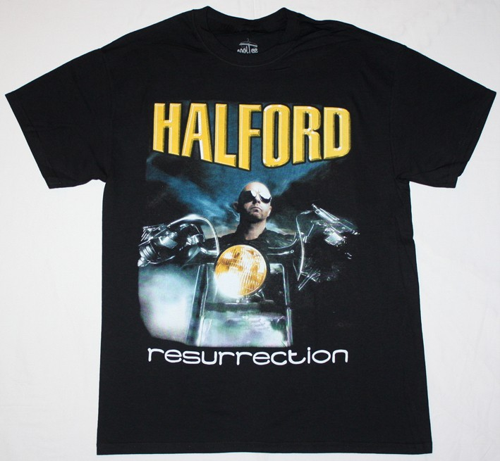 Halford resurrection judas priest fight heavy metal band s for Xxl band t shirts