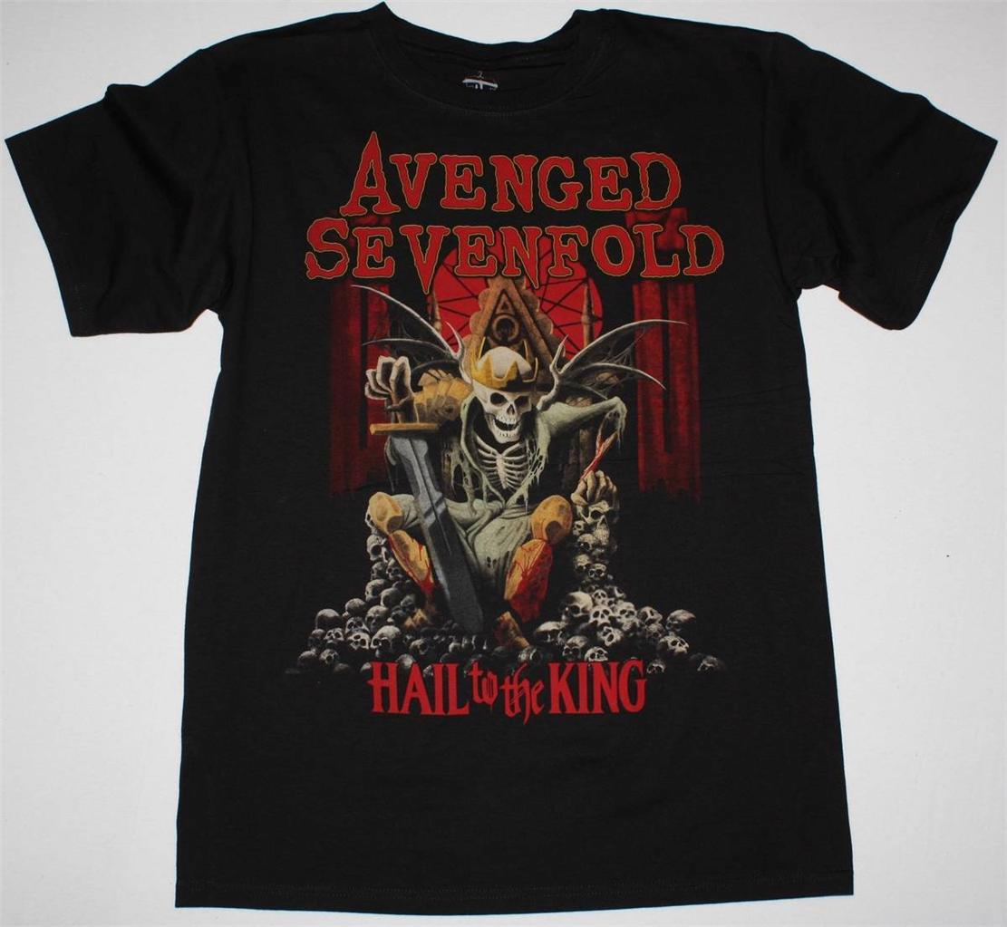 AVENGED-SEVENFOLD-HAIL-TO-THE-KING-2013-NEW-ALBUM-METALCORE-NEW-BLACK-T-SHIRT