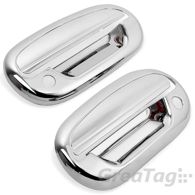 97 03 Ford F150 Pickup Chrome Door Handle Cover Trim Regular Super Cab 2dr