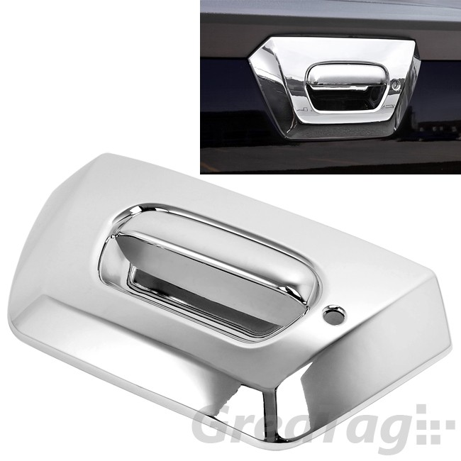 For Chevy Avalanche 1500 2500 Triple Chrome Tailgate Rear Door Handle Cover Ebay