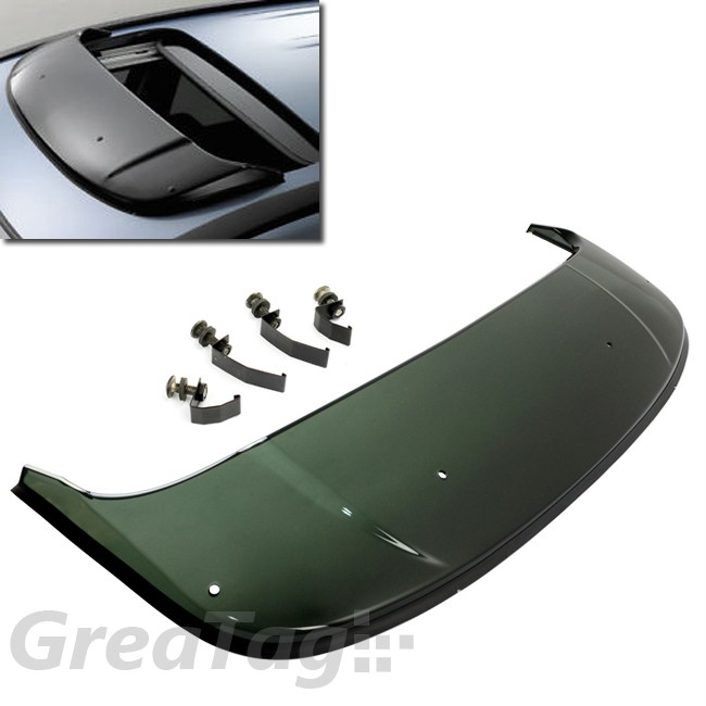 service manual  sunroof moonroof visor wind deflector