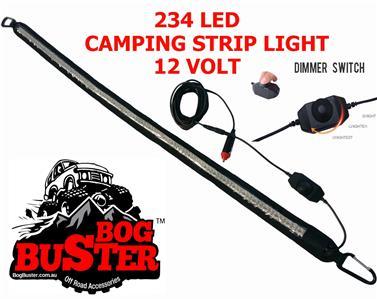 bogbuster 234 led camping camp strip light lights 12 volt. Black Bedroom Furniture Sets. Home Design Ideas
